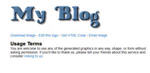 Generated logo